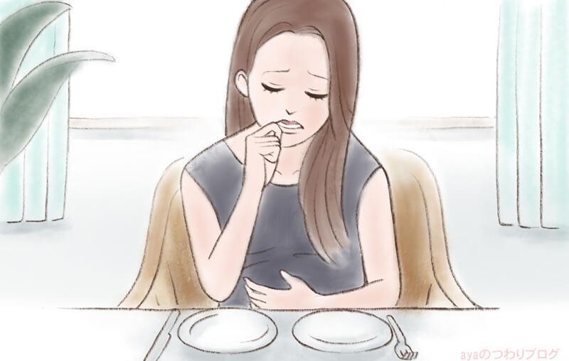 食べつわり軽減