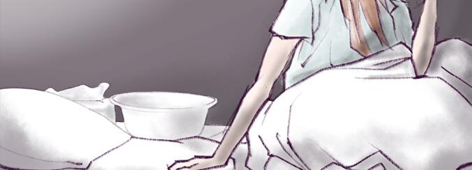 吐きつわり体験談。吐き気と嘔吐と二人三脚だったマタニティーライフ