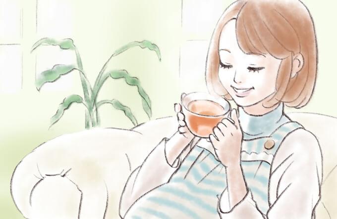 妊婦のハーブティー